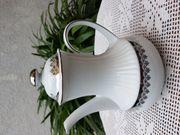 Neuwertige seltene Kaffee Teekanne von