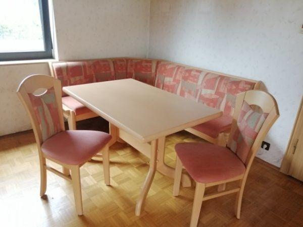 Essecke Mit Esstisch Eckbank Essbank 2 Stühlen Tisch Ausziehbar