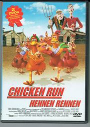DVD Chicken Run - Hennen rennen