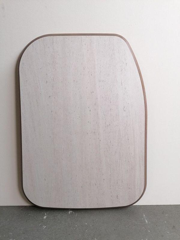 Holzplatte für ein Wohnmobil wagen