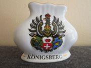 Königsberg - Serviettenhalter - Wappen - Porzellan - Höhe