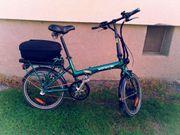 E Bike Klapprad Neuwertig - Ideal