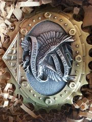 Gürtelschnalle von Harley-Davidson