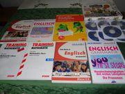 8 Stück Schülerhilfe Trainingsbücher CDs