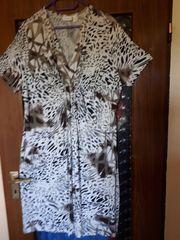 Shirtkleid Gr 50 afrikanisches Muster