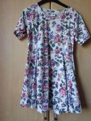 Mädchenbekleidung Kleid Swinger-Kleid Blumen-Kleid Gr