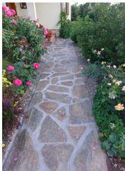 Naturstein für Gartenweg Weg