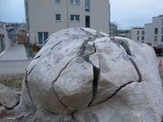 Steine Beton spalten Sprengen mit