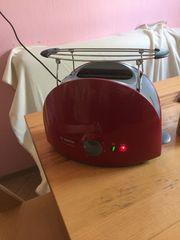 Toaster Bosch weinrot