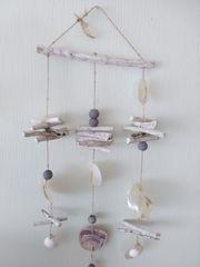 hübsches Windspiel mit Muscheln Mobile