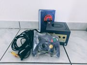 Nintendo Gamecube Lila Konsole mit