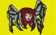 Vorlage für Ministeck Spinne 80x60cm