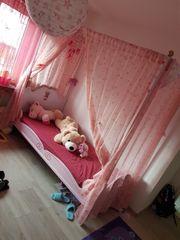 Prinzessin Bett mit Kleiderschrank