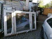 Neues dreiflügiges Fenster 212 cm