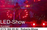 Feuershow Schlangenshow Robaria Sachsen Thüringen