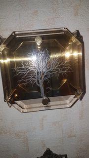 2 Colani Wandlampen mit Eingravierung