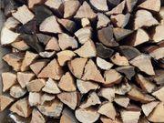 Brennholz ofenfertig Buche Kiefer Lärche