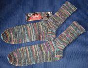 1 Paar selbstgestrickte Socken 40