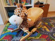 Schaukelpferd Schaukeltier Giraffe