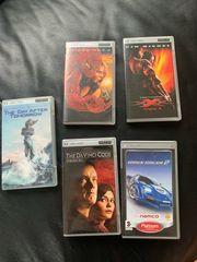 PSP 4 Filme und 1