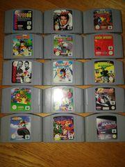 Nintendo 64 Spiele Controller