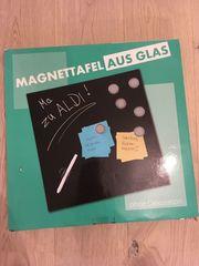 Glas-Magnettafel originalverpackt 40x40cm