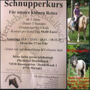 Kinder-Schnupper-Reit-Kurse auf dem 74538 Pferdehof