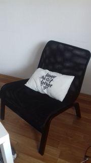 IKEA Sessel schwarz