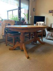 Ausziehbarer Esstisch aus Massivholz