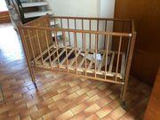 Anikes ein Kinder Babybett Handbemalt