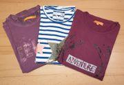 3 neuwertige Langarm-Shirt s Größe