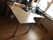 Schreibtisch Ahorndekor hell wie neu