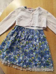 Kinderkleid mit Bolero Gr 86