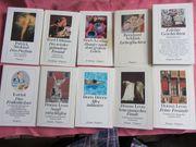 105 Diogenes Bücher davon 14