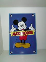 Micky Mouse Emaill Schild 75 -