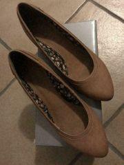 Esprit braun beige Schuhe -Größe
