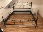 Himmelbett Bett Metallgestell 180x200