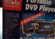 Tragbarer DVD Player 2 Bildschirme