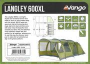 Tunnelzelt vango Langley 600 XL