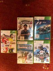 5 Sport-Spiele für Xbox 360