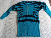 Vintage - Feinstrickpullover 2in1-Pullover Longpullover ca
