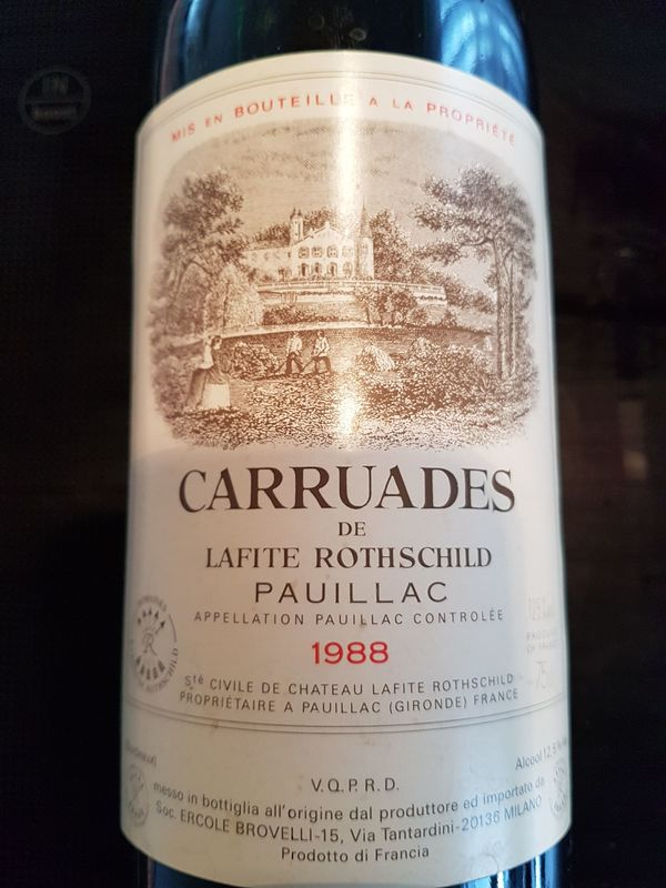 1988 Carruades de Chateau Lafite-Rothschild