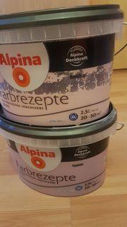 Wandfarbe Alpina