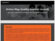 Online Map Quality Analyst m