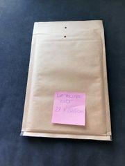 10 Stück Luftpolsterkuvert Kuvert braun