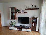 Wohnzimmermöbel Nussbaum Weiß