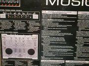 DJ Mix Console mit Cross