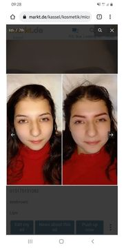 Micropigmentierung cosmetic tattoo