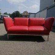 Designer Leder Sofa Couch variable