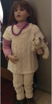 Künstler Puppe groß